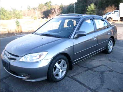 2005 Honda Civic EX Start Up, Engine & In Depth Tour