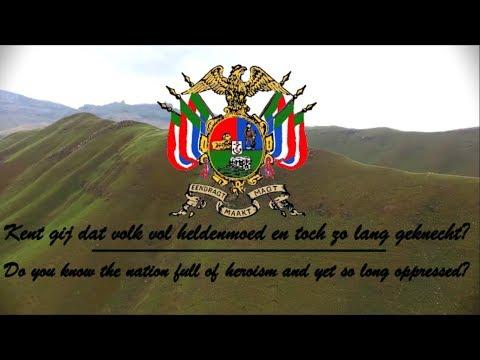 National Anthem Of The Transvaal – Transvaalse Volkslied (Lyrics English/Dutch)