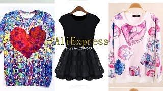 ➨ Посылки AliExpress: 3 женские кофты(Свитшот с алмазами http://goo.gl/cXmkbt Свитшот с сердцем http://goo.gl/jrPBI1 Блузка с баской http://goo.gl/EnrNpT ----------------------------------..., 2014-09-21T06:00:01.000Z)