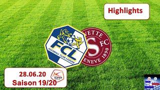 Highlights: Fc Luzern Vs Servette - Genf Fc 27.06.2020