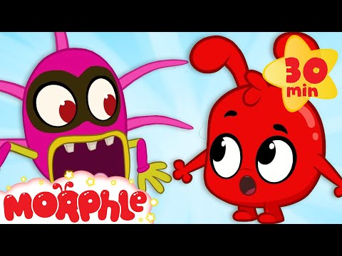 Morphle and The Monsters - My Magic Pet Morphle | Cartoons For Kids | Morphle TV | Mila and Morphle