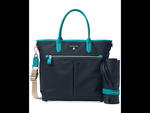 779e69725a7cf9 MICHAEL Michael Kors Kelsey Large Diaper Bag - YouTube
