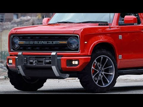 WOW !!! Next Ford Bronco May As Well Call It The American Troller
