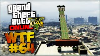 BIG JUMP IN BUILDING ! - GTA 5 ONLINE ( GTA 5 COURSE WTF )