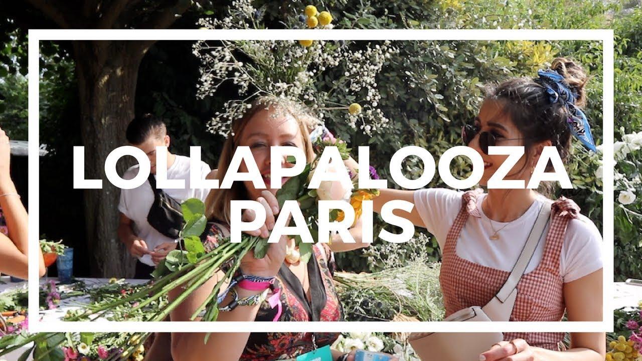 Lollapalooza Festival Paris vlog - in partnership with SEAT UK