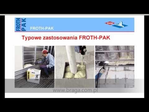 BRAGA - FROTH-PAK - izolacja termiczna w pianie.wmv