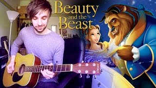 Disney's Beauty and The Beast Fingerstyle Acoustic Guitar Cover