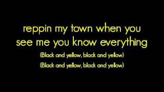 Wiz Khalifa- Black and Yellow [LYRICS]