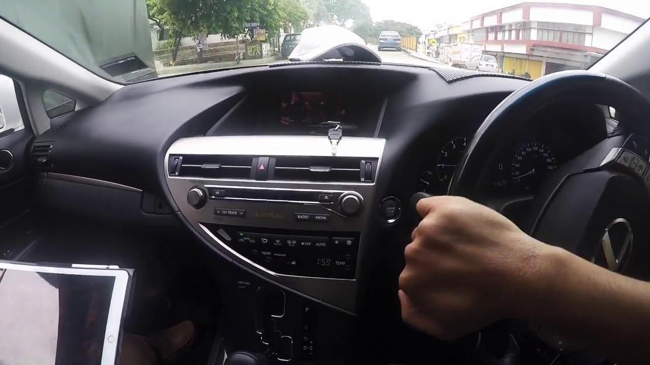 Lexus Rx350 (Malaysia) - Mirror Link (Ios10 & Android)  Jdm Technik 03:20 HD