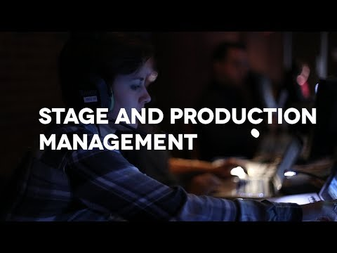 Theatre: Stage and Production Management