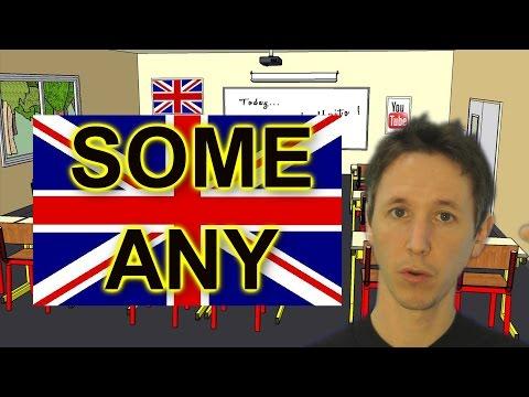 Cours d'anglais avec Huito: Some et Any