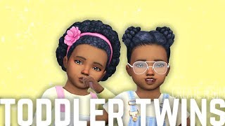 CAS || TODDLER TWINS || THE SIMS 4