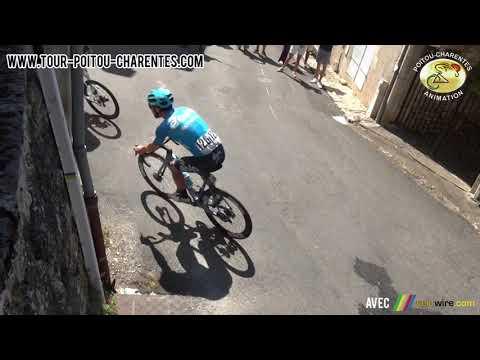 Résumé de la 2e étape du Tour Poitou-Charentes 2021 entre Parthenay et Ruffec