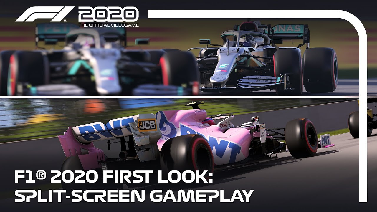 Video: F1 2020 first Look Split-screen gameplay