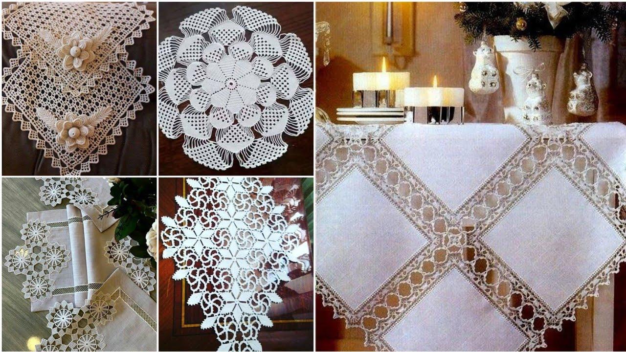 Tığ işi Dantel Oda Takımı motif Anlatımlı Video 1 & Crochet