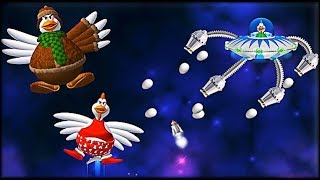 Chicken Invaders 3: Christmas Edition - All Bosses