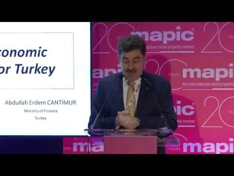 Keynote address: Abdullah Erdem Cantimur on direct investment in Turkey
