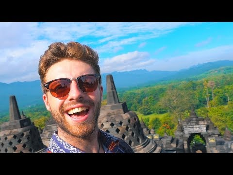 INDONESIA'S BEST TEMPLE (AND A CHICKEN CHURCH?!)
