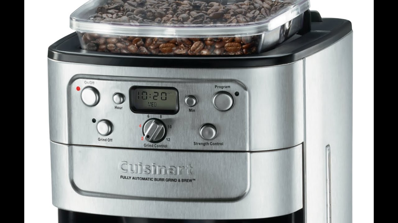 Cuisinart Coffee Maker Quit Brewing : Best Coffee Machine - Fresh Grind - Cuisinart DGB-900BC Grind & Brew Thermal Automatic ...