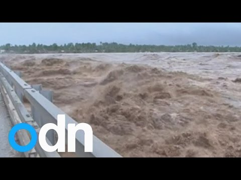 Mozambique floods: Fears 25 children have been washed away