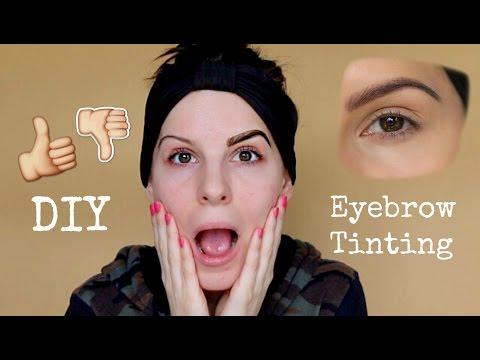 Diy eyebrow tinting in 5 minutes youtube diy eyebrow tinting in 5 minutes solutioingenieria Gallery