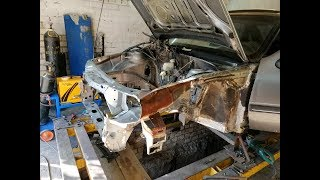 Чистка гаражного кондиционера.   Opel Vectra А.  ДЫР больше нет