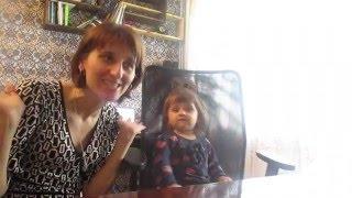 Anny's playing English (мой занятия с дочкой(1,8 лет) английским языком)