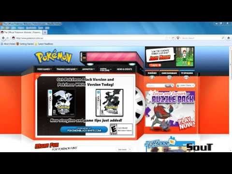 Pokemon Tutorial - How To Sign Up For A Pokemon Trainer Club Account