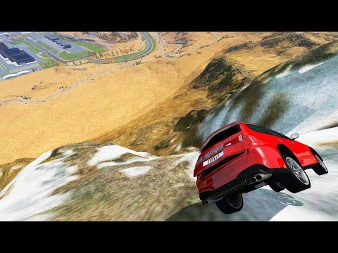 Cliff Drops #3 - BeamNG Drive Crashes/Jumps