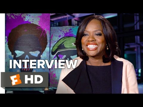 Suicide Squad Interview - Viola Davis (2016) - Action Movie