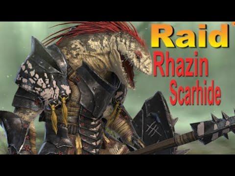 RAID Shadow Legends РАЗЕН   Rhazin Scarhide (Гайд/Обзор героя)Советы по прокачке