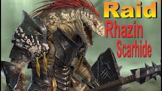 RAID shadow legends РАЗЕН | Rhazin Scarhide (Гайд/Обзор героя)Советы по прокачке