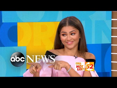 Download Youtube: 'GMA' Hot List: Zendaya on how she became 'obsessed' with 'Spider-Man'