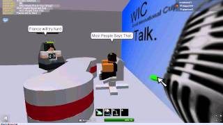 ROBLOX | WIC TALK WITH Gtpower3