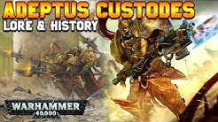 Who Are the Adeptus Custodes? History & Lore | Warhammer 40,000