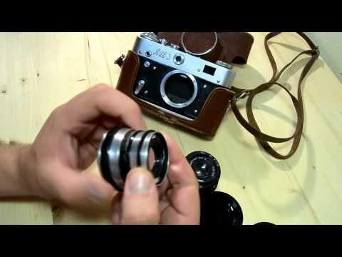 Переходные кольца адаптер для объективов Никон М39 и М42 с линзой