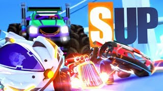 SUP Multiplayer: Race cars - Oh BiBi Walkthrough