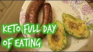 QUICK KETO FULL DAY OF EATING + MACROS!