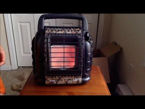 Mr. Heater Hunting Buddy 12,000 BTU (MH12B) Indoor safe Portable Propane Heater
