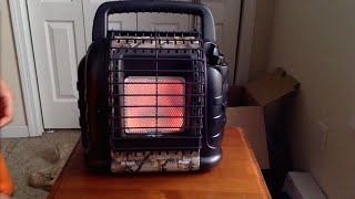 Mr. Heater Hunting Buddy 12,000 BTU (MH12B) Indoor safe Portable Propane Heater