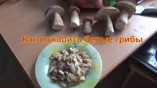 Как пожарить белые грибы белый гриб жарить рецепт на зиму