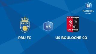 J11 : Pau FC - USBCO I National FFF 2018-2019