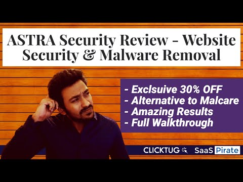 ASTRA Security 360° Website Security & Malware Removal Plugin Review thumbnail