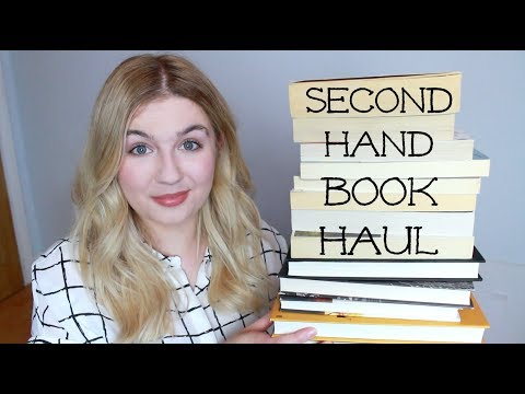 Second Hand BOOK HAUL | 2017