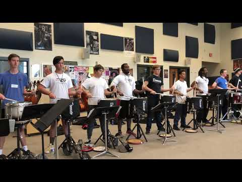 Atlanta CV Drumline 2018 battery 1st Audition Block