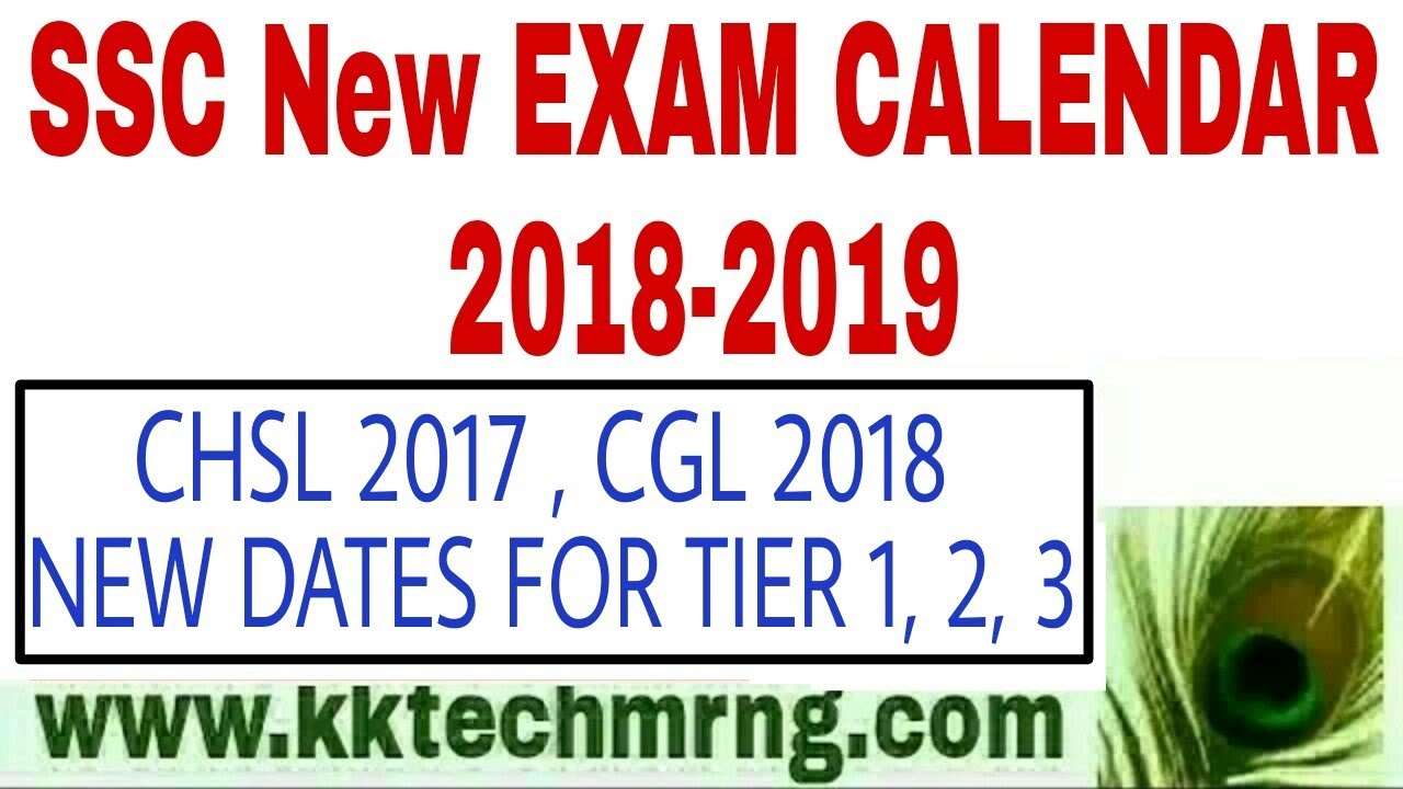 ssc exam dates postponed ssc 2018 2019 exams calendar