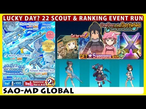 Lucky Day? 22 Scout & One Day in the Battlefield Girls and GGO (SAOMD Memory Defrag)