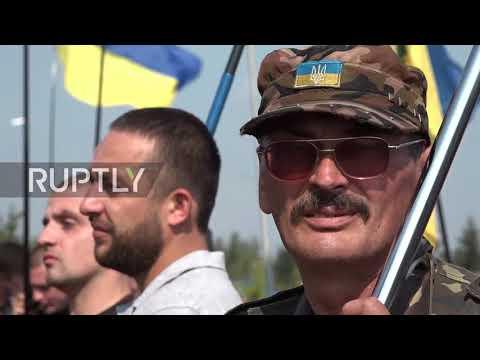 Ukraine: Saakashvili supporters build protest camp on border with Poland