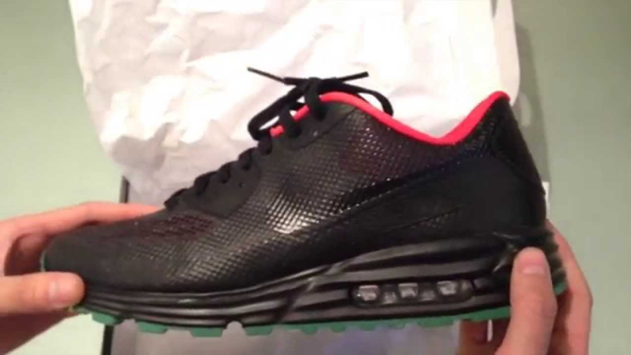 3350059d0b2 Nike ID Airmax 90 Hyperfuse Lunarlon Yeezy Colourway Review - YouTube
