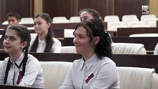 Глава Карачаево-Черкесии провел урок Российской государственности для школьников республики